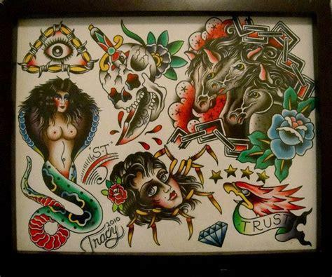 tracy tattoo designs tracy martino flash traditional american
