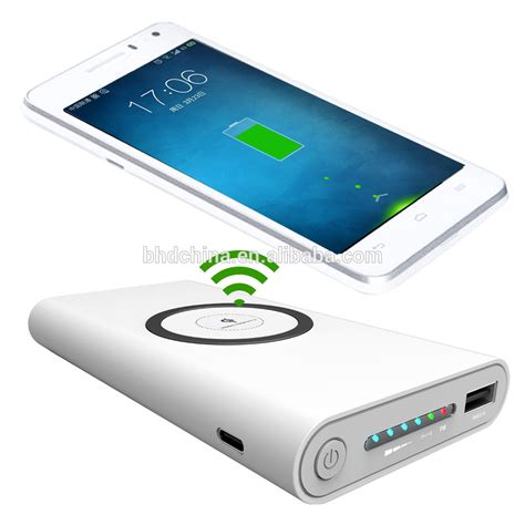Power Bank Wireless portable qi charger supplier wireless power bank charger