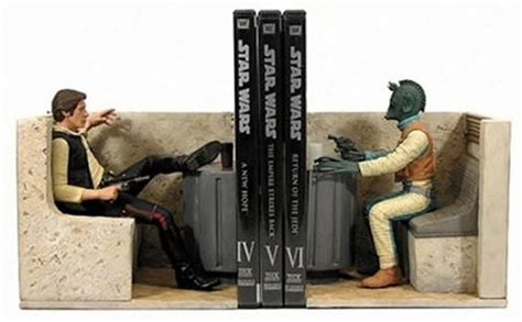 star wars han solo shot first han solo and greedo book ends quot han shot first quot for the
