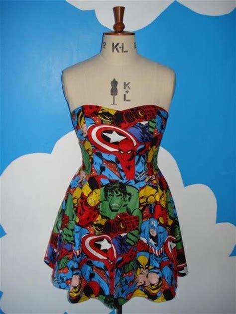 marvelous marvel characters dress