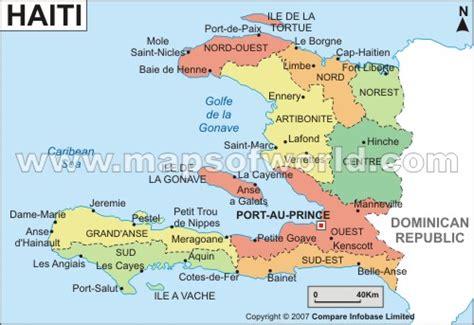 map of haiti cities map of haiti