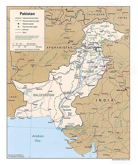 map of pakistan pakistan maps perry casta 241 eda map collection ut