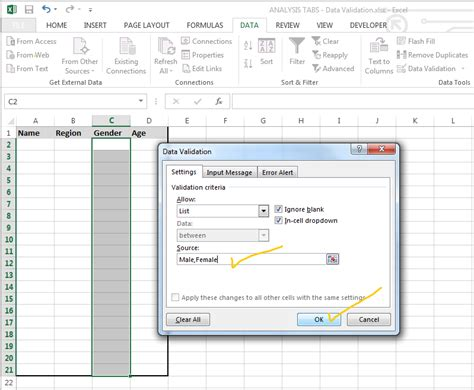 bean validation pattern exle excel drop down list how to create edit and remove data