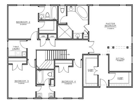 colonial floor plan center colonial house plans center colonial