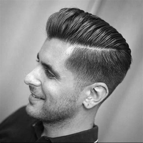 pompadour hairstyle pictures haircut 30 hard part haircut ideas for the modern dapper man