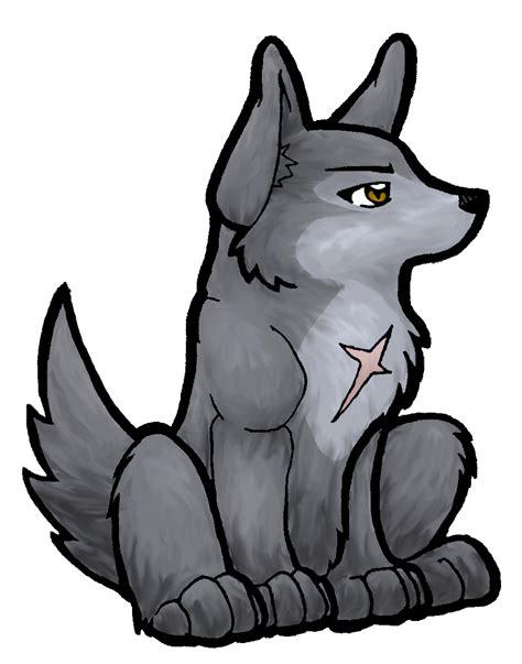 anime chibi wolf chibi tsume wolf by akireru on deviantart