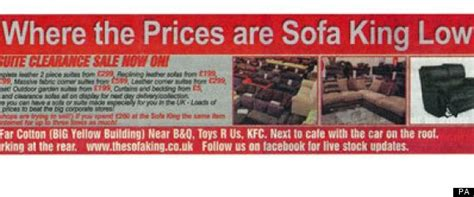 Sofa King Advert Sofa King Advert Banned 8 Years After Sofa King Advert