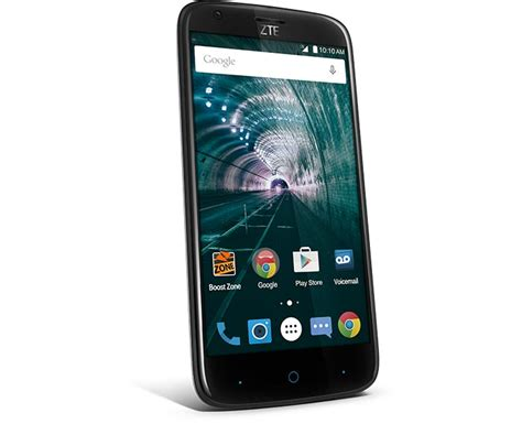 mobile phone reviews boost mobile zte warp 7 available for 99 prepaid mobile