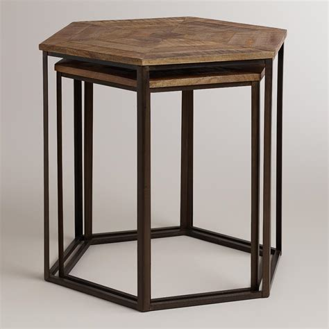 Iliana Set iliana nesting tables set of 2 world market