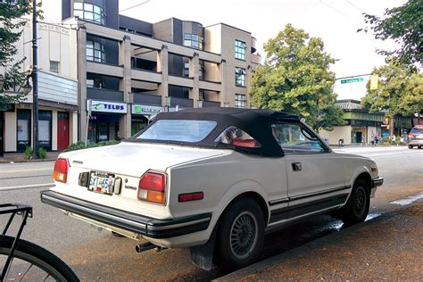 1982 Honda Prelude by Parked Cars Vancouver 1982 Honda Prelude Convertible