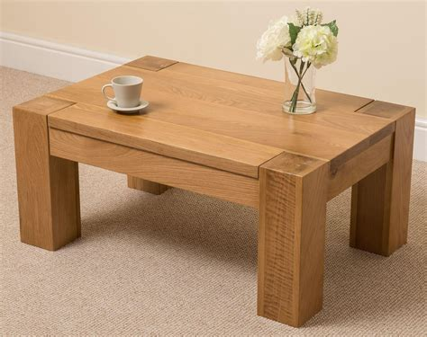 luxury rectangular solid wood coffee table solid oak