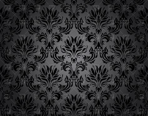 black pattern background free damask seamless black wallpaper pattern royalty free