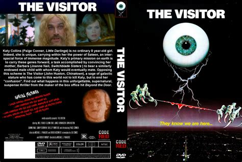 the visitor how and the visitor movie dvd custom covers visitor dvd covers