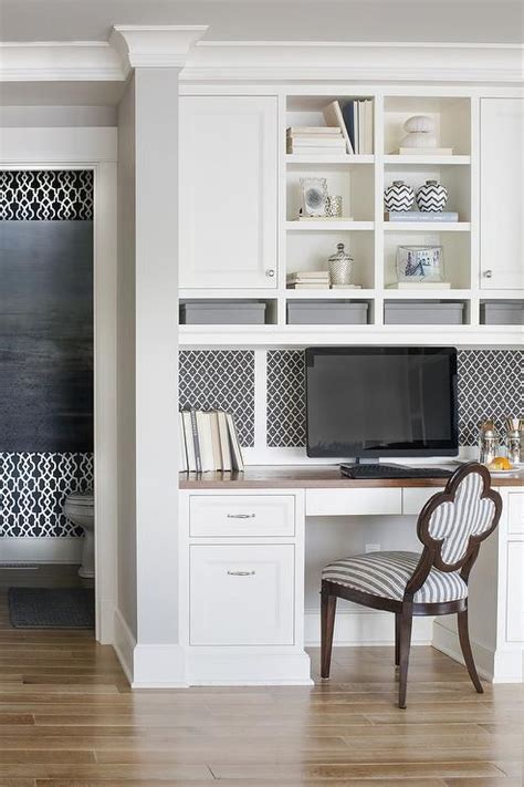 Gray Backsplash Kitchen best 25 desk with shelves ideas on pinterest desk ideas