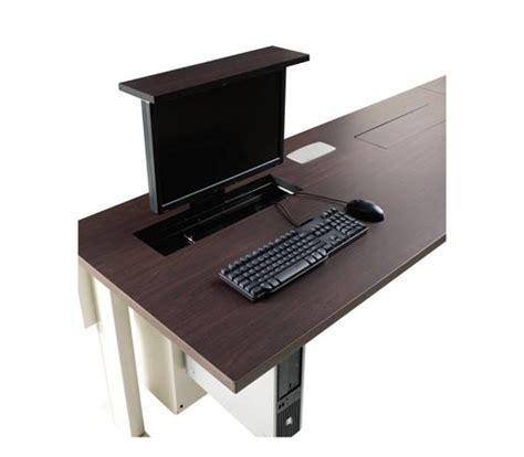 Computer Desk Monitor Lift by Smart Lift For Monitor Table Office