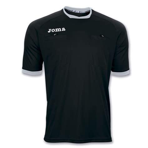 tshirt referee hop016 niron cloth t shirt referee s s black joma