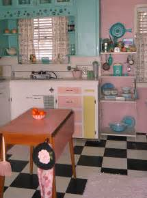Pink Retro Kitchen Collection by Stunning