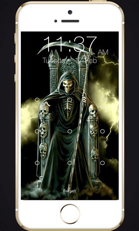 skull pattern lock screen skull pattern screen lock amazon com br amazon appstore