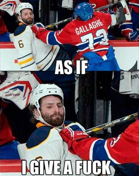 Nhl Memes - hockey as if i give a fuck gifs memes pinterest