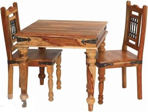 Indian Dining Table And Chairs Brand New Jali Indian Solid Sheesham Wood Dining Table And 4 Chairs Ebay