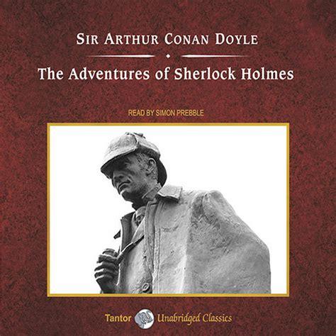 the adventures of sherlock holmes audiobook   listen