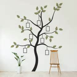 Picture Wall Stickers Family Tree Wall Decal With Faux Frames