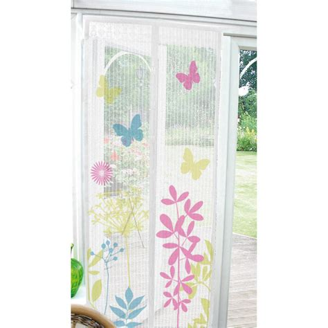 magnetic screen curtain printed magnetic insect door screen curtain home bug fly