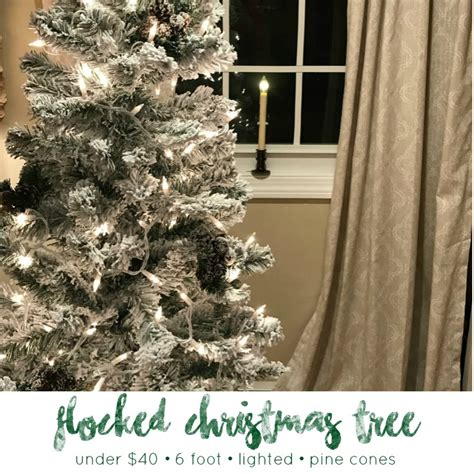 hobby lobby white flocked christmas tree white create a 6 flocked tree for 40 from the family with