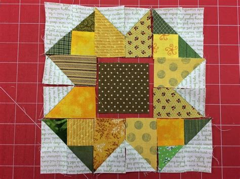 Sunflower Quilt Block Pattern by Sunflower Quilt Block Pattern Free On Craftsy