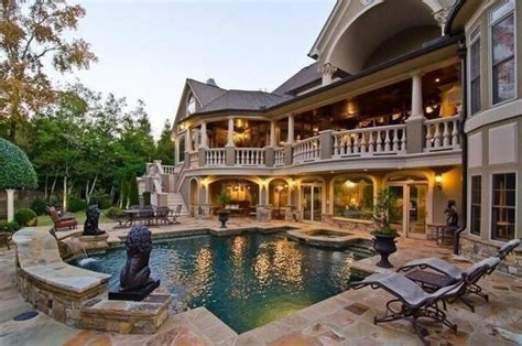 houses with big backyards nice big house and pool home pinterest big houses and nice