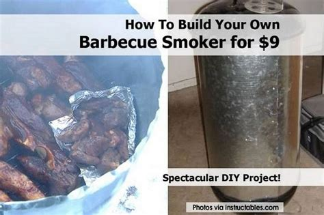 how to make your own pit how to build your own barbecue smoker for 9