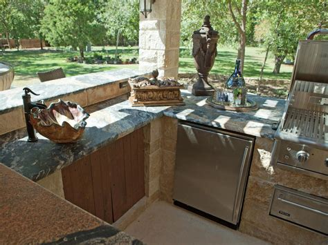 outdoor kitchen sinks pictures tips expert ideas hgtv