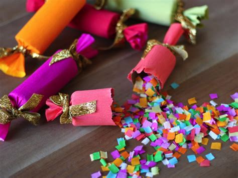 new year decorations dublin decorating colorful diy confetti poppers as a