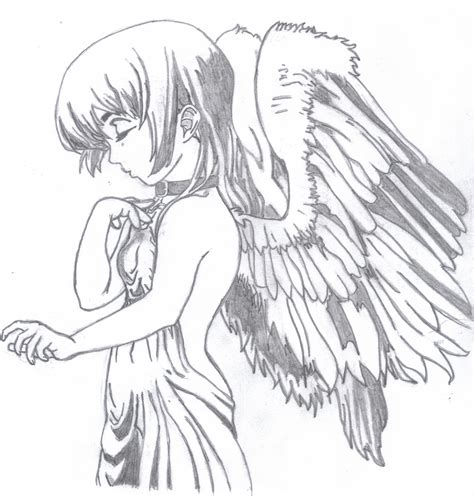 anime angel drawing dornell123 169 2018 jul 29 2011