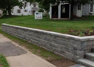 techo bloc s semma retaining wall block outdoor space