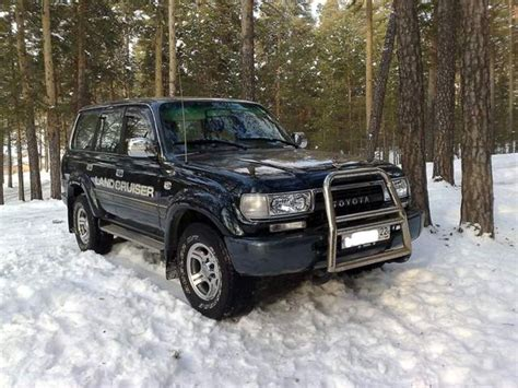 Toyota Land Cruiser 1990 1990 Toyota Land Cruiser Information And Photos Momentcar