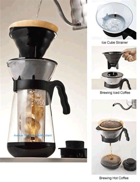 Hario Vic 02b V60 Coffee Maker Pembuat Es Kopi avenue 18 tea merchant hario v60 coffee maker
