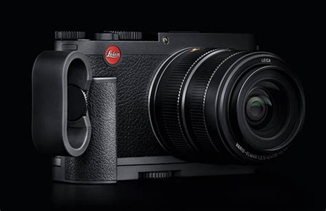 Handgrip Vario leica x vario now 2298 at b h photo black steve huff photo