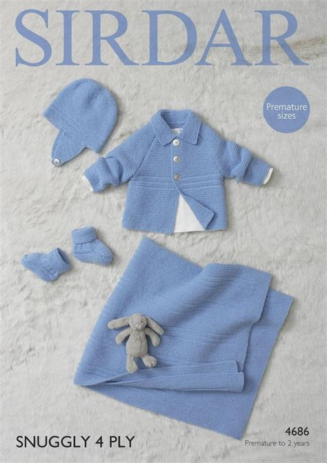 sirdar 4 ply baby knitting patterns sirdar 4686 knitting pattern baby jacket helmet bootees