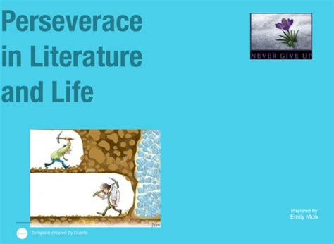 biography definition in literature perseverance in literature and life on flowvella
