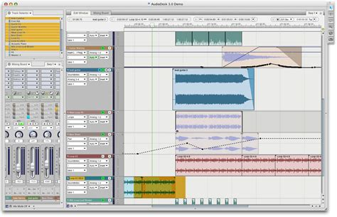 Sound Desk Software by Motu Audiodesk Overview