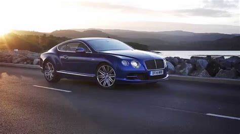 blue bentley bentley continental gt speed coupe sequin blue