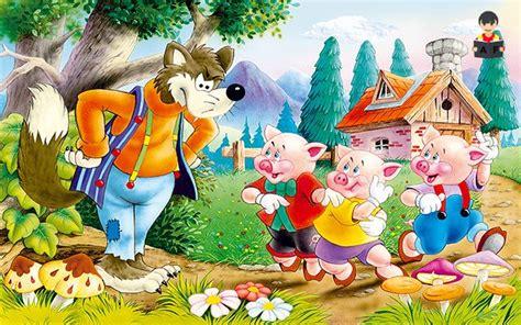 imagenes felices los tres los tres cerditos cuentos infantiles aprende feliz