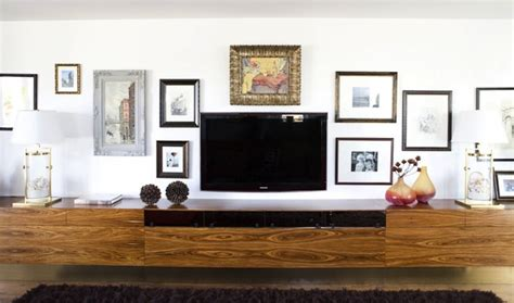living room media cabinet floating media cabinet eclectic living room erinn v
