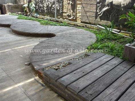Woodstone Sleepers by Garden Of Asia Get Your Goods From Thailand