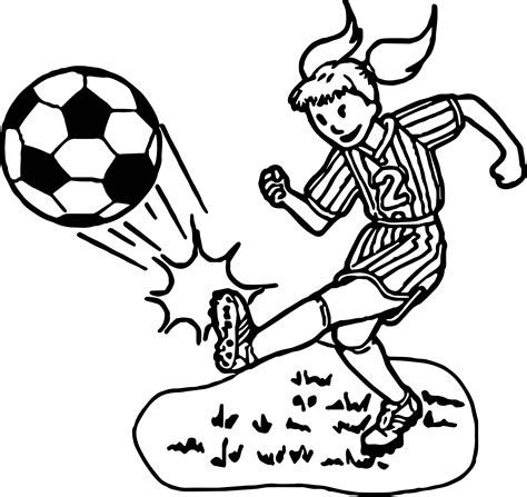coloring page soccer girl girl soccer player coloring pages