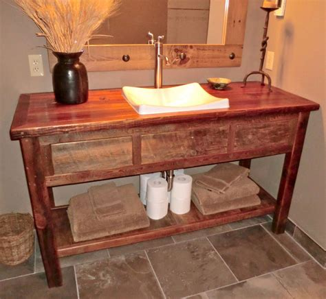 Furniture Vanity Sink Rustic Furniture Portfolio Rustic Bathroom Vanities