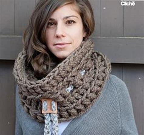 bufanda cuello en crochet o ganchillo de lana o estambre bufandas uolala