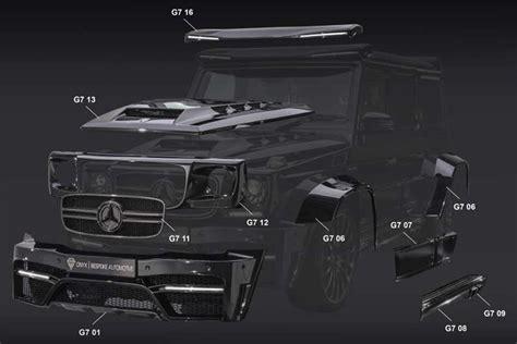 Onyx Garage by Garage Onyx Concept Mercedes G7 Essential