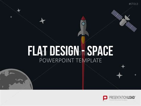 flat design powerpoint template presentationload flat design